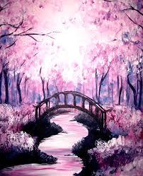 bridge uunder the cherry blossoms 1