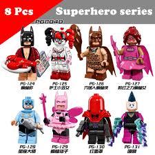 8pcs <b>Building Blocks Brinquedos Model</b> set Figures Toys super hero ...
