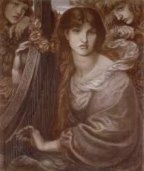dante gabriel rossetti the garland 1873 painting in my site painting authorized official website