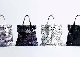 Japanese Designer Bag Geometric Issey Miyake Updates Iconic Bao Bao Bag With New Shapes
