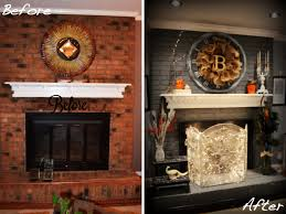 the diffe fireplace remodel before and after