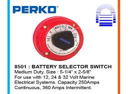 battery switches terminals sun set marine since 1994 perko 8501