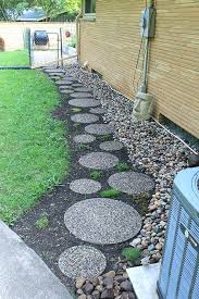 stepping stones for garden path perfect landscape garden path complete blog round stone in landscape stepping