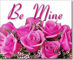 be mine pink roses image dc 6046