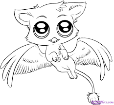 Mythical Creatures Coloring Pages Images For Easy Drawings Art