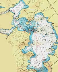 Lake Simcoe Depth Chart Sparrow Lake