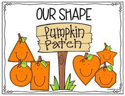 Image result for pumpkin and shape illustrations