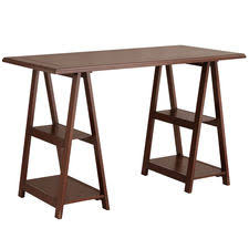 pier 1 imports home office. cavaletto tobacco brown desk pier 1 imports home office