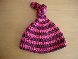 Infant Crochet Hat Pattern Unique Is It A Toy Topknot Stripes Baby Hat