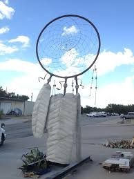 Where To Place Dream Catchers Fascinating Concrete Dreamcatcher Takes Place Of Honor In Marble Falls Texas