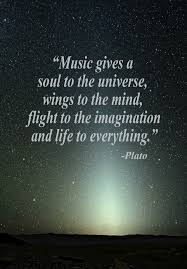 Beauty Of Music Quotes Best of Music Gives A Soul To The Universe Wings To The Mind Flight To The