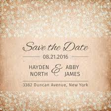 save the date template free download 3 vintage wedding invitation designs save the date templates free