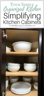 Simplify Your Kitchen With Organized Kitchen Cabinets The Simply