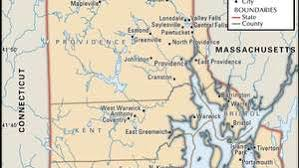 Warwick, cranston and pawtucket are the next largest cities respectively. Rhode Island Map Population History Beaches Facts Britannica