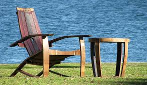 furniture made from barrels. Wine Barrel Oak Garden Furniture By The Hungarian Workshop Made From Barrels