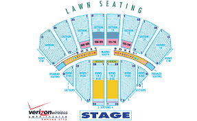 Alpine Valley Detailed Seating Chart With Seat Numbers Bank America Pavilion Online Charts Collection