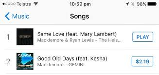 Macklemores Same Love Climbs To Itunes Number One Daily