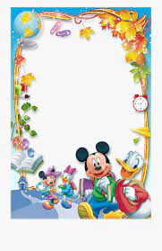 Mickey Mouse Page Border Clip Art (Page 1) - Line.17QQ.com