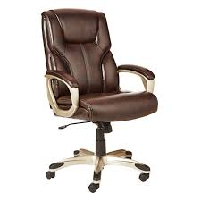 flash furniture plush leather lever rocker recliner with padded arms office executive chair brown chairs high