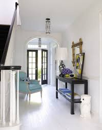 front entry furniture. Amazing Front Entry Door And Armchair With Small Entryway Table Also Skinny Wall Art Lamp Plus Staircase Railings Furniture