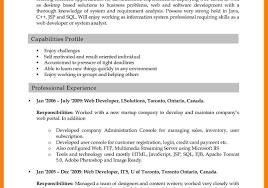 Web Design Resume Example Resume Template Web Design Cv Examples Developer Junior Designer 18