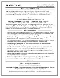 Hotel Management Resume Format Pdf Best Of Restaurant Manager Resume