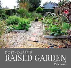 do it yourself raised garden beds. DIY Raised Garden Bed Not Only Looks Great But Also Aalows You To Manage Your Outdoor Do It Yourself Beds R