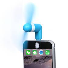 iphone fan. mini portable 8 pin lightning mobile fan for ipad iphone 5/5s/6/ iphone
