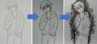 Learn how to start drawing in a manga style today. How To Draw An Anime Boy Shounen Feltmagnet Crafts