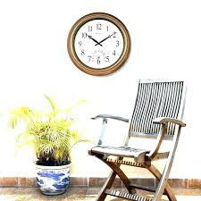 24 inch wall clock inch outdoor clock inch wall clock outdoor clocks inch mesmerizing decorative outdoor 24 inch wall clock