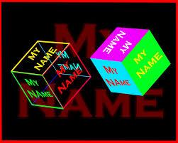 my name cube live wallpaper 1 7 screenshot 1