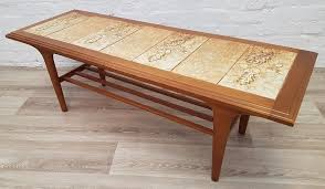 vintage tiled coffee table delivery available for this item of furniture