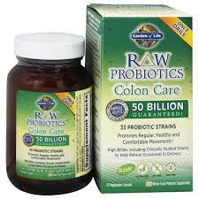 garden of life raw probiotics colon care 33 probiotic strains 30 vegetarian capsules