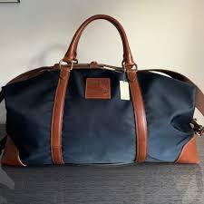 timelessuk last month london united kingdom polo ralph lauren canvas leather duffle bag