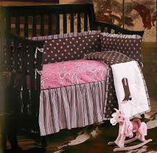 charming baby nursery room design using paisley baby girl bedding modern design for baby nursery