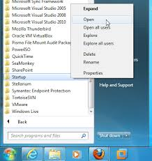 add to startup windows 7 automatically launch a program at startup grok