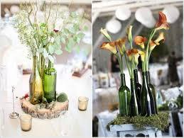 3. Wine Bottle Vases