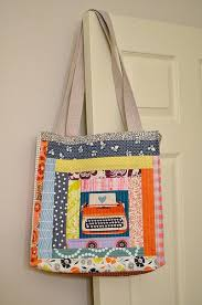 963 best Handbags & Accessories images on Pinterest | Pockets ... & quilt-as-you-go patchwork tote Adamdwight.com