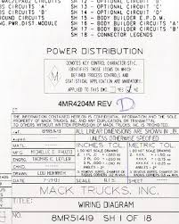 2005 mack ct vehiclepad 2004 2005 mack wiring diagram chassis ct