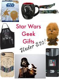 star wars geek gifts for under 20 each