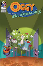 Cockroaches #1 (Animation Cel Cover ...