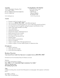 Best Ideas Of Cover Letter Tourist Visa Application Sample About