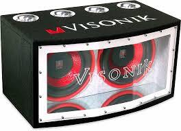 visonik vbp bandpass enclosure dual subwoofers at visonik v123bp bandpass enclosure dual 12 subwoofers at com