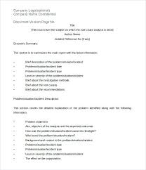 Android Template Rca Document Itil Doc Beadesigner Co