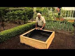 wooden raised beds liners