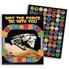 Star Wars Behavior Chart Amazon Com Star Wars Mini Rewards Charts W Stickers 36 Pkg