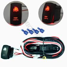 cheap 24v relay wiring 24v relay wiring deals on line at get quotations · mictuning led light bar wiring harness 40 amp relay on off laser bumper light rocker