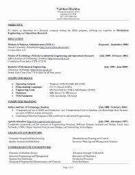 Mechanical Engineer Sample Resume Sample Sample Resume A Mechanical