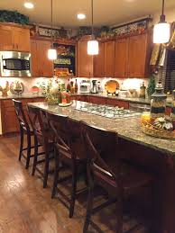 Fall Kitchen Decorating The Tuscan Home Fall Decorated Christmas Tree