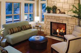 old wood fireplace fixed in family home
